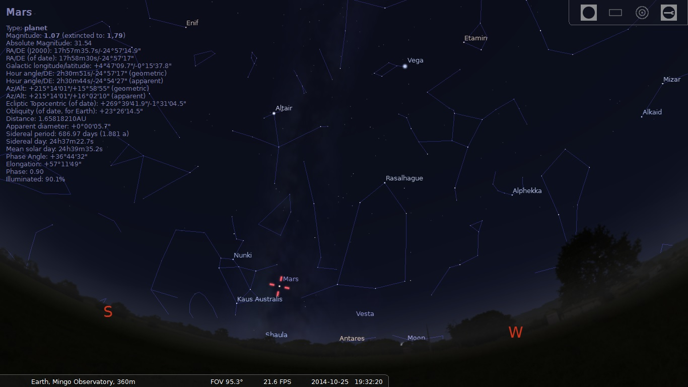 Stellarium Oct26 7,30PM.