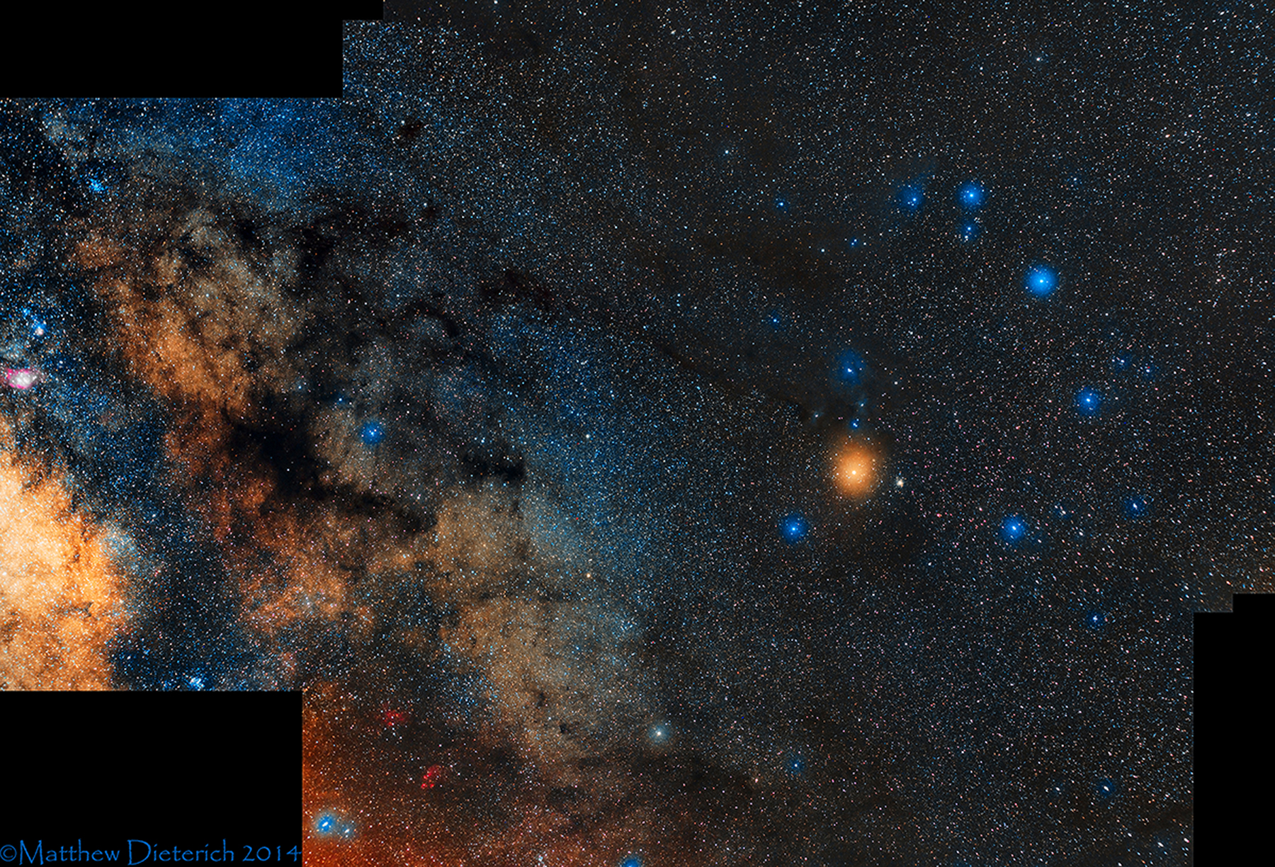 Rho Ophiuchi Region, Matt Dterich, Astronomy Magazine Picture of the Day, December 6, 2014