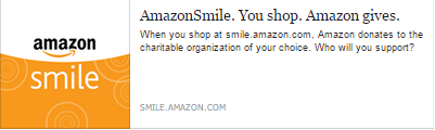 "Amateur Astronomers Association of Pittsburgh is Participating in Amazon Smile. ""AmazonSmile is a simple and automatic way for you to support your favorite charitable organization every time you shop, at no cost to you. When you shop at smile.amazon.com, you'll find the exact same low prices, vast selection and convenient shopping experience as Amazon.com, with the added bonus that Amazon will donate a portion of the purchase price to your favorite charitable organization. "" From http://smile.amazon.com/ ."